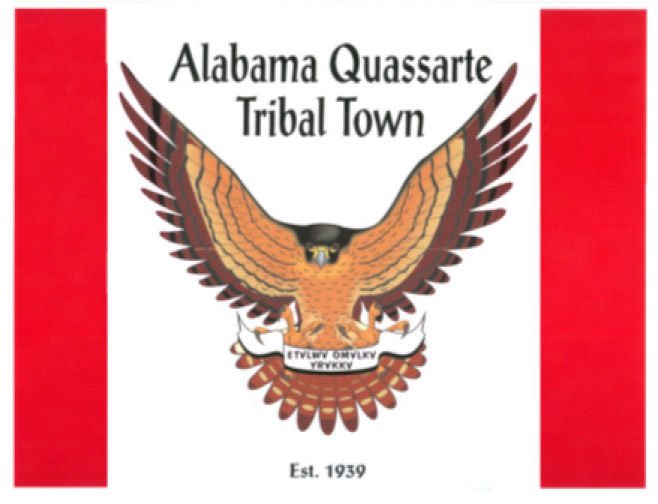The Alabama Quassarte Tribal Flag
